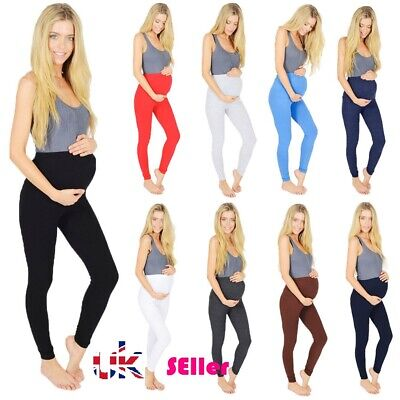 Thick Heavy & Warm Maternity Cotton Leggings Ankle Length PREGNANCY * mTrLgs
