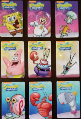 Are Ya Ready, KIDS? Dave & Buster's SPONGEBOB SQUAREPANTS Coin Pusher Cards GARY