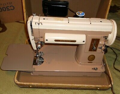 1950's Singer Sewing Machine Model 301A  *Sews Great* Straight Stitch Only.
