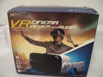 Xtreme Virtual Reality Cinema Viewer with Insulated Audio System (OPEN BOX) SP