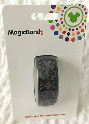 Disney Haunted Mansion Wallpaper Haunted Mansion Ride MagicBand 2 Magic Band NEW