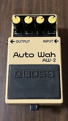 Boss Auto Wah AW-2 guitar effect pedal AW 2