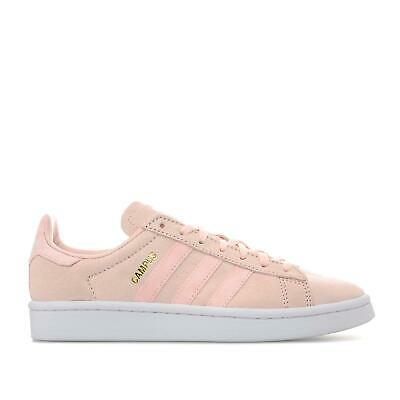 Adidas Originals Womens Girls Campus Trainers Shoes Pink - Various Sizes