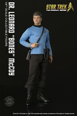 Star Trek Dr. Leonard Bones Mccoy 1/6 Scale Articulated Figure Quantum Mechanix