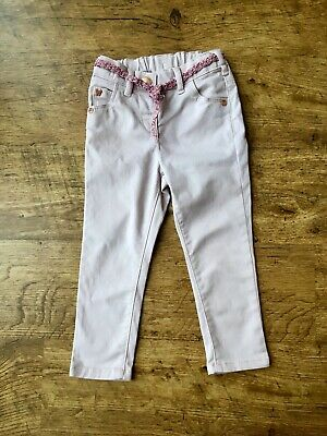Next ~ Baby Girls Light Pink Skinny Jeans ~ Age 18-24 Months