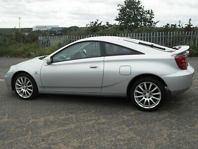 NOW SOLD 2004 toyota celica 1.8vvt-i red 1 owner NOW SOLD