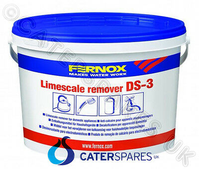 2Kg Fernox Ds3 Heavy Duty Descale / Limescale Remover Glasswasher / Dishwasher