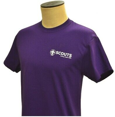 70263XL 24th WORLD SCOUT JAMBOREE 2019 - T-SHIRT - PURPLE - ADULT X LARGE NEW!