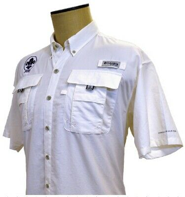 70279L 24th WORLD SCOUT JAMBOREE 2019 - COLUMBIA - WHITE - ADULT LARGE - NEW !