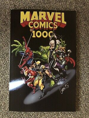 Marvel Comics #1000 - J Scott Campbell -  variant - NM+ 1st  historic KEY issue