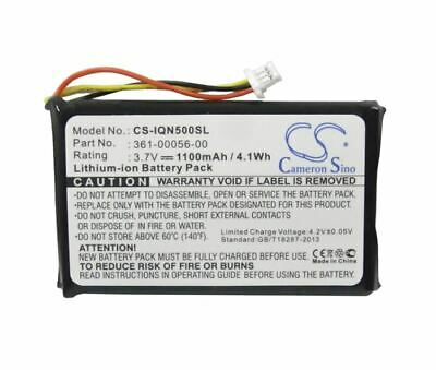 361-00056-00 3.7V 1100mAh GPS Battery for Garmin Nuvi 30 50 50LM 55LM 55LMT