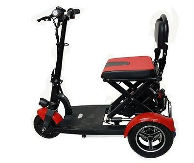 FOLDING LIGHT WEIGHT MOBILITY SCOOTER 36 volt li-ion