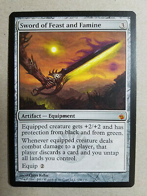 Sword of Feast and Famine x1 NM - Mirrodin Besieged MTG Magic