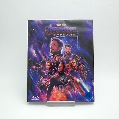 (Presale) Avengers: Endgame - Blu-ray Slip Case Edition (2019)