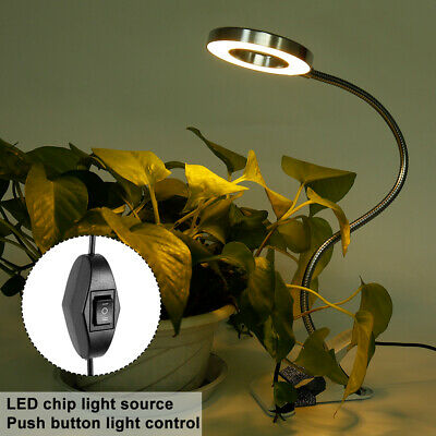 Dimmable USB Clip On Light Magnifying Beauty Nail 8W 48 LED Table Lamp Desk