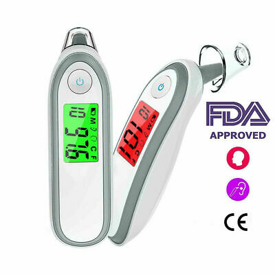 Digital LCD Ear Thermometer Medical Baby Adult Body Temperature Oral 3 Mod JOS2