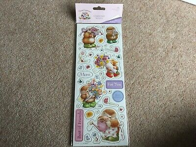 2 Pack Country Companions Chipboard Shapes Toppers Mum Mothers Day Card Making