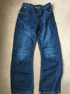 M&S Marks & Spencer Boys Jeans  Adjustable Waist Age 13