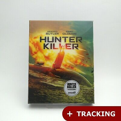 Hunter Killer - Blu-ray Steelbook Lenticular Case Limited Edition / kimchiDVD