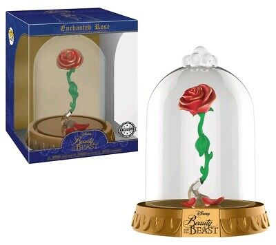 Funko Pop Vinyl Domes Disney Beauty And The Beast Enchanted Rose Exclusive Dome