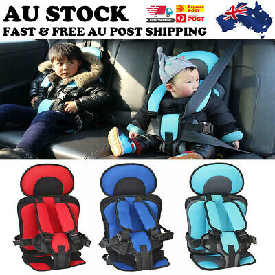 Baby Safety Car Seat Portable Toddler Cotton Sitting Chair Cushion Protection AU