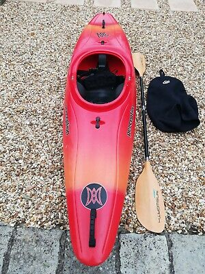 PERCEPTION SUPERSONIC RIVER Runner Kayak with Ainsworth K100