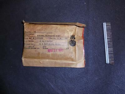 WW2 US Military Army M1 Garand Cleaning Brush x 11 - Sealed in Pack - 1945