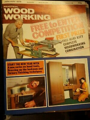 Practical Woodworking Magazine 1979-1988 All Issues In Binders