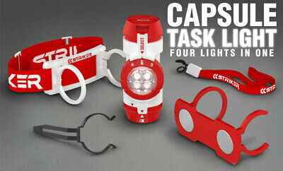12 x Capsule 4-in-1 LED Light / Headlamp  LIQUIDATED BANKRUPT CLEARANCE STOCK