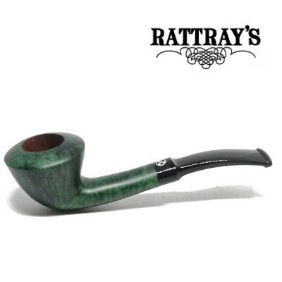 NEW Rattray's - LTD - Green - Smooth Pipe