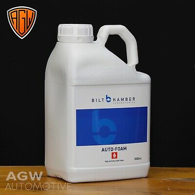 Bilt Hamber - Auto Foam - 5L - Car Snow Foam Cleaner / Pre Wash