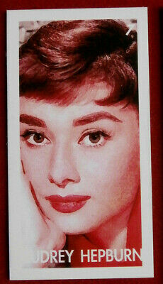 AUDREY HEPBURN - Card # 07 individual card, issued by Redsky in 2011
