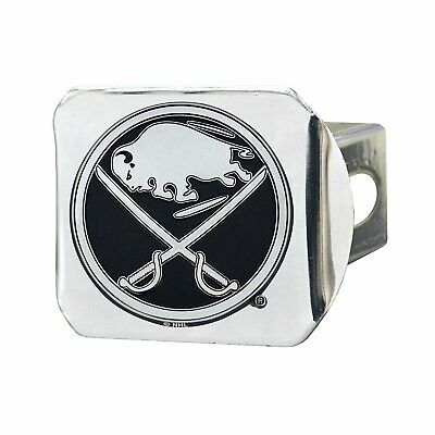 Buffalo Sabres Premium Heavy Duty Metal Chrome Hitch Cover Bumper Trailer Hockey