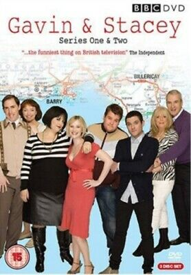 Gavin and Stacey: Series 1 and 2 (DVD 3 DISC BOX SET, 2008) *NEW/SEALED*