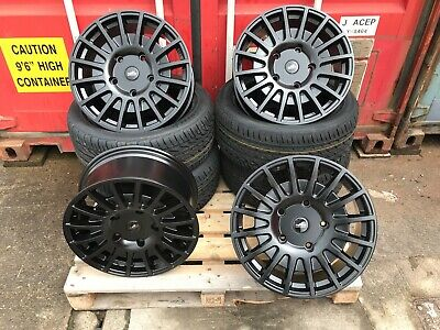 """20"""" Ford Transit Courier Rst Vigor Alloy Wheels & Tyres Black 5X160"""