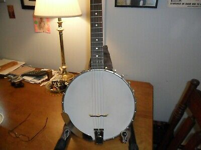 RECORDING KING RK-OT25-BR Madison Open Back Banjo with