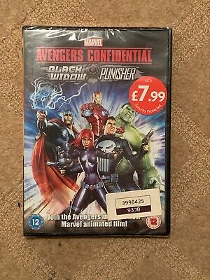 Avengers Confidential - Black Widow and Punisher [(DVD, 2014) *NEW/SEALED*