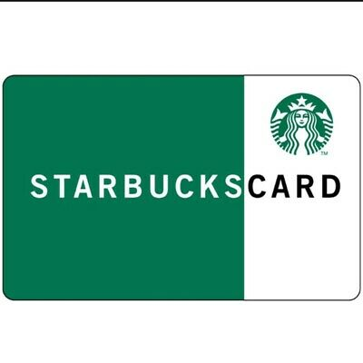 Starbucks Gift Card $50 Email Delivery Transferable To Personal Account
