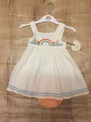 little Bird By Jools Rainbow Dress 6-9 Months 🌈 BNWT