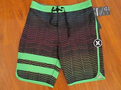 New Hurley Boy/'s Size 10 12 18 Board Shorts Phantom Blue 982505 Big Kids