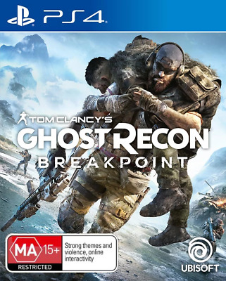Tom Clancys Ghost Recon Breakpoint PS4 Game NEW