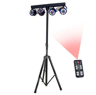 Ibiza DJLIGHT80LED Barra fari 4X PAR - B-STOCK