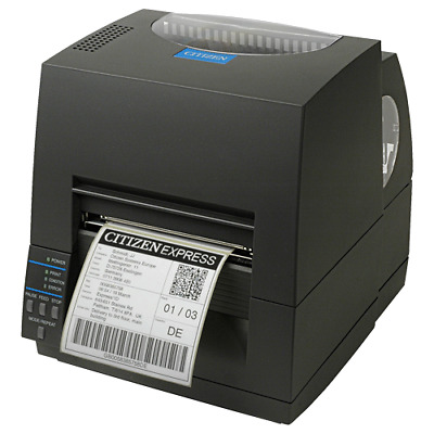 CITIZEN CLS621 Thermal Transfer Label Printer blk