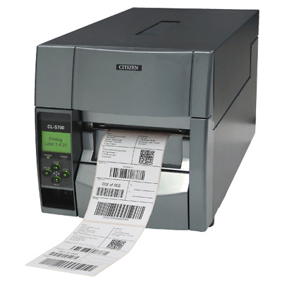CITIZEN CL-S700 Industrial Thermal Transfer Label Printer