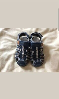 Boys blue brown Closed Toe shoes by George Size 9 uk infant
