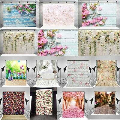 14 Types Sakura Flower Wall Photography Background Studio Prop Photo Backdrop AU