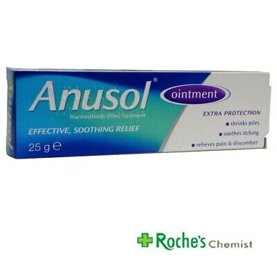 Anusol Ointment 25g  for Haemorrhoids ( Piles)