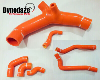 Dynodaze Mitsubishi Colt CZT & Ralliart Complete Engine Bay Silicon Hoses Orange