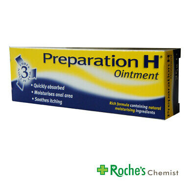 Preparation H  Ointment 25g for Haemorrhoids ( Piles )