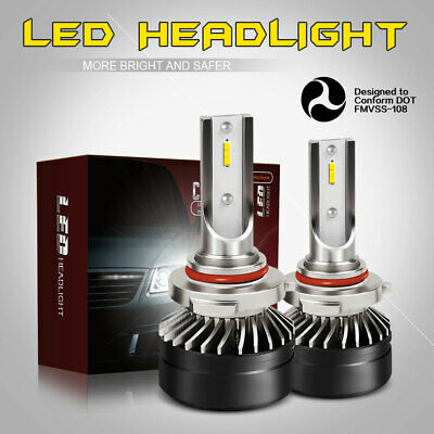 CSP 9006 HB4 LED Headlight Bulb Kit Low Beam 6000K 12000LM White Light Lamps DTB